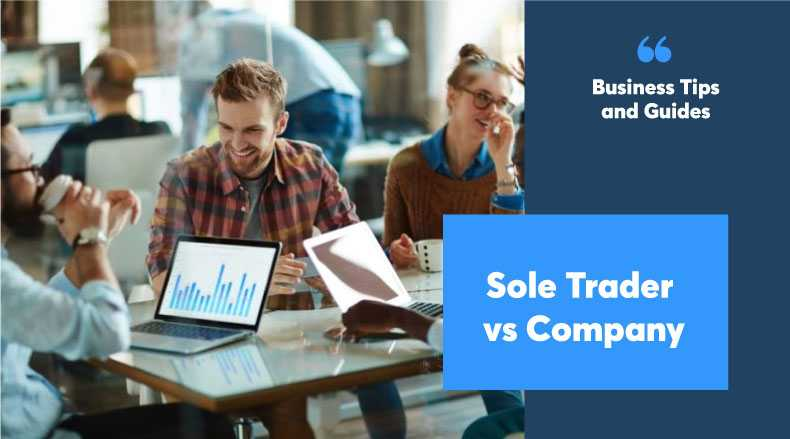 Difference between a company and a sole trader?