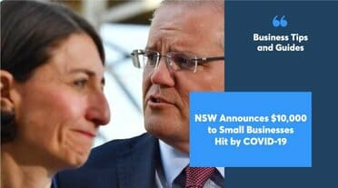 NSW Announces $10,000 to Small Businesses Hit by COVID-19
