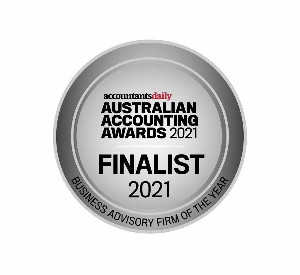 Accounting Awards 2021 - Business Advisory Firm of the Year Finalist