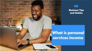 what is personal services income