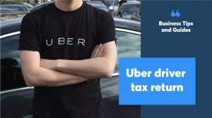 Uber driver tax return